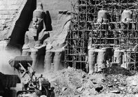 saving Abu Simbel temple