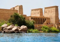 Saving Philae island