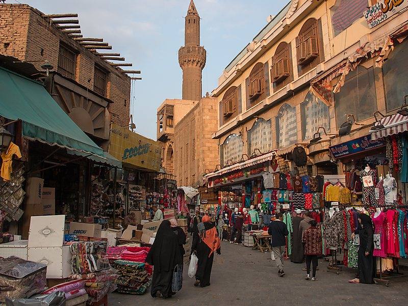 Monuments Sight Seeing Attractions Khan ElKhalili Market