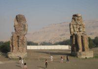 Egypt Memnon Colossi