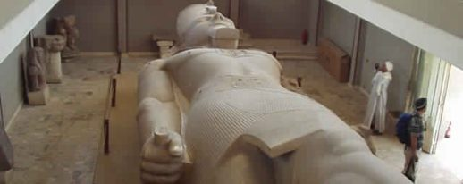 Monuments Sight Seeing Attractions Egypt Rameses II Colossal Statue