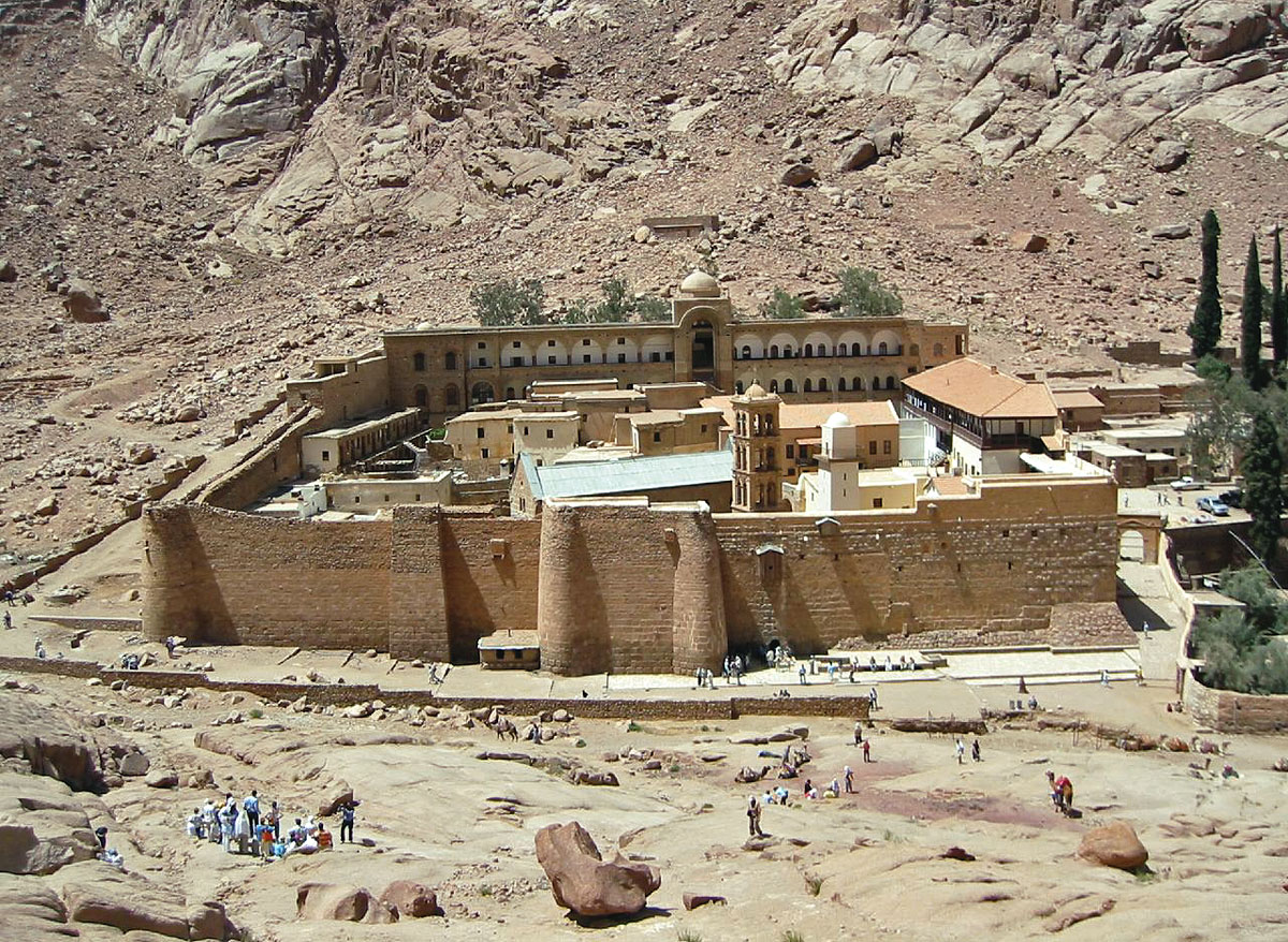 Monuments Sight Seeing Attractions Egypt Monasteries