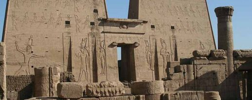 Monuments Sight Seeing Attractions Edfu Temple