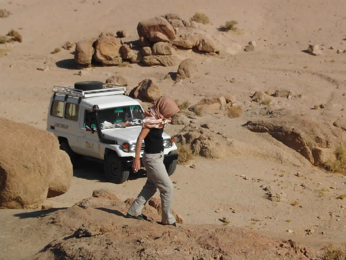 Dahab jeep 2 days Camel desert safari