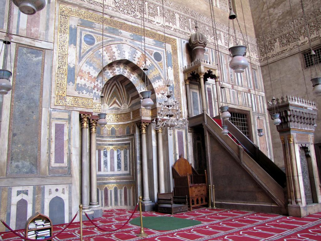 Monuments Sight Seeing Attractions Sultan Hasan Mosque