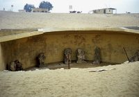 Monuments Sight Seeing Attractions Egypt Saqqara Animal Cemeteries
