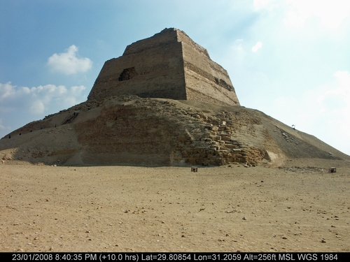 Monuments Sight Seeing Attractions Dahshur pyramids